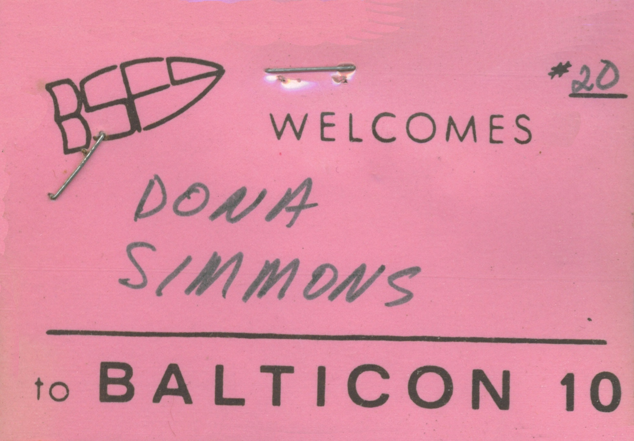 Balticon Badge 10