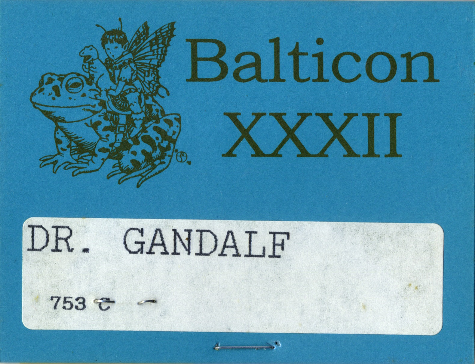 Balticon Badge 32