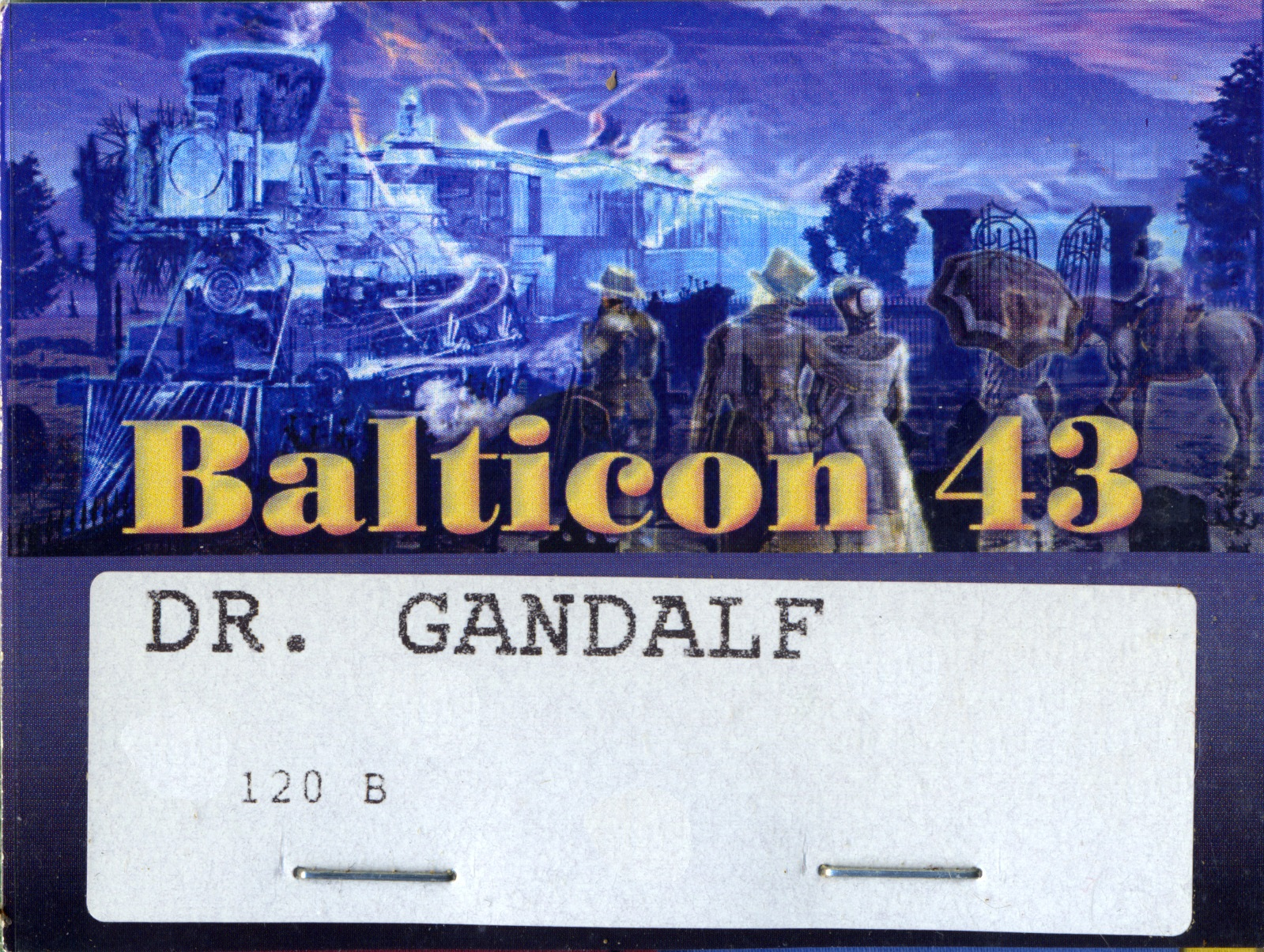 Balticon Badge 43
