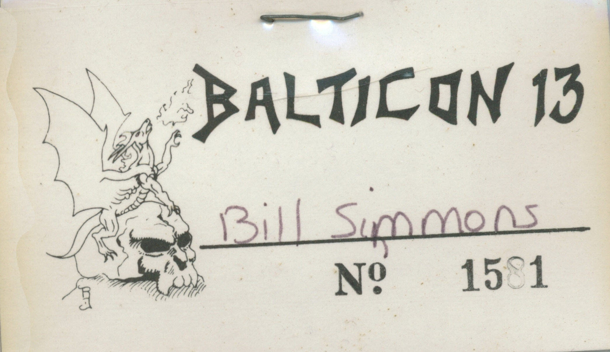 Balticon Badge 13