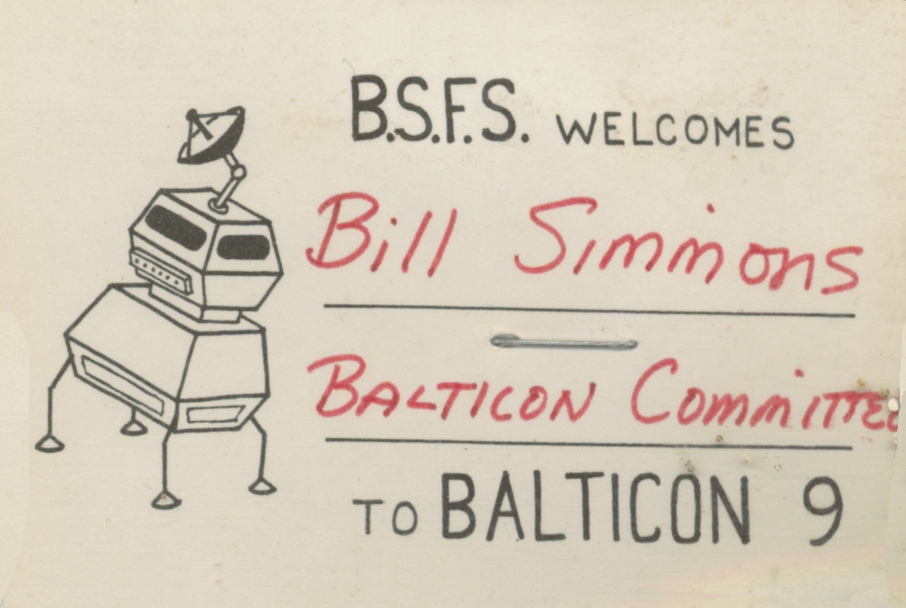 Balticon Badge 9